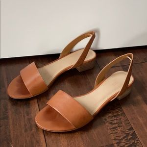 Brown Slingback Sandal